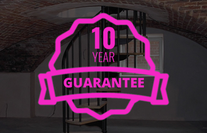 10 year Waterproofing guarantee