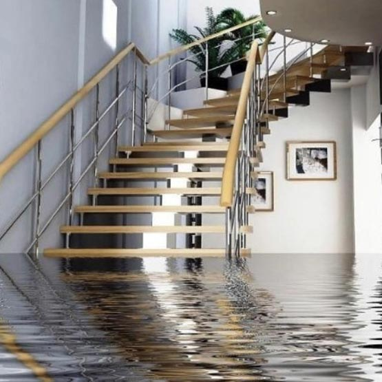 Flooded basement repairs